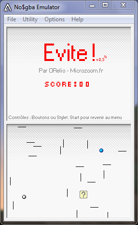 Evite! DS Mode solo